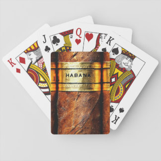 Havana Cigars Cigar Cuban Vip Gold Playing Cards