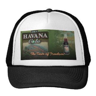 HAVANA COLA DIET THE TASTE OF FREEDOM! HAT