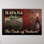 HAVANA COLA The Taste of Freedom! Canvas Print