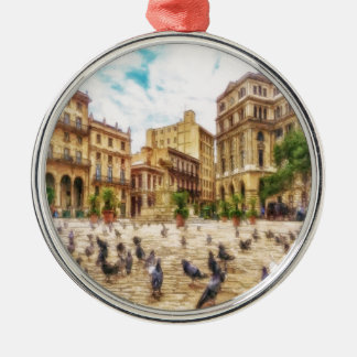 Havana Cuba by Shawna Mac Christmas Ornament