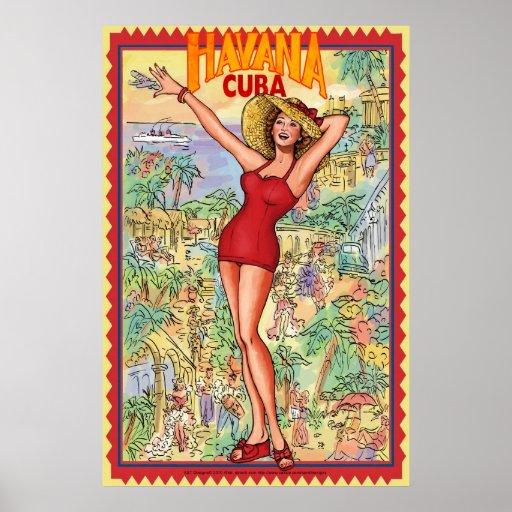 havana cuba posters