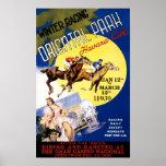 Havana Horse Racing Vintage Travel Poster