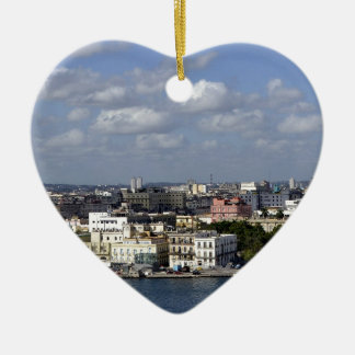 Havana skyline christmas ornament