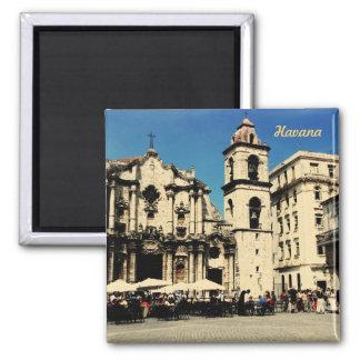 Havana square, Cuba magnet