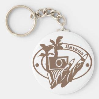 Havana Stamp Key Ring