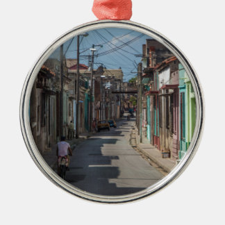 Havana streets christmas ornament