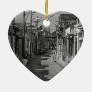Havana streets christmas ornament