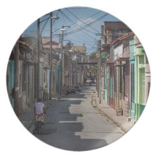 Havana streets plate
