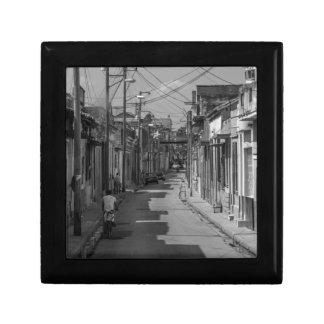Havana streets small square gift box