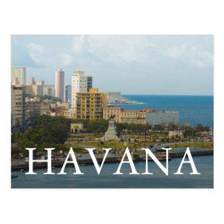 Havana Waterfront, Cuba. Postcard
