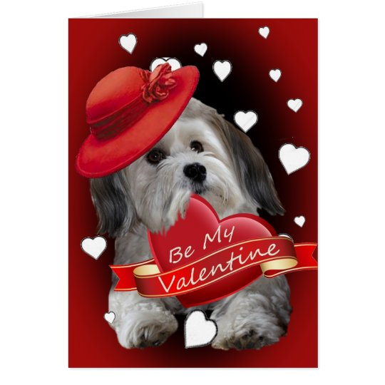 Havanese Be My Valentine Cards