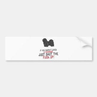 Havanese Bumper Stickers