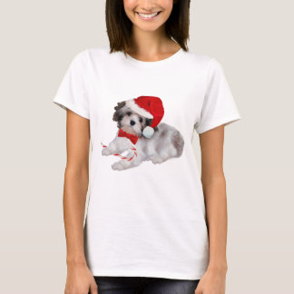 Havanese Christmas Apparel T-Shirt