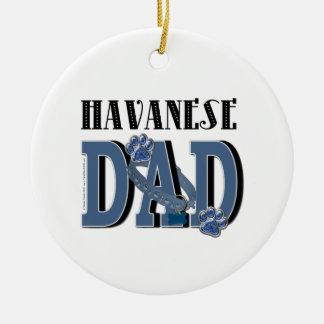 Havanese DAD Ornaments