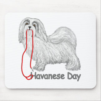Havanese Day Mouse Mat