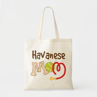 Havanese Dog Breed Mom Gift Tote Bag