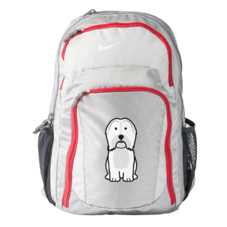 Havanese Dog Cartoon Backpack