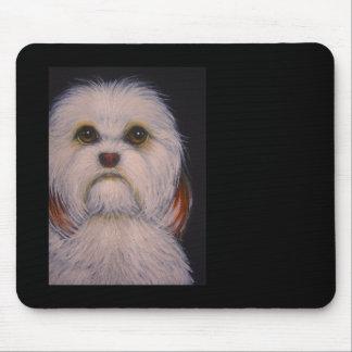 HAVANESE DOG CUTOMIZE Mousepad