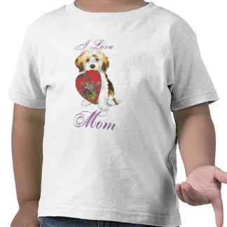 Havanese Heart Mom Shirts