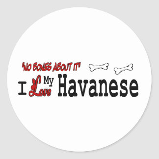 Havanese (I Love) Sticker