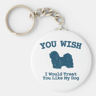 Havanese Key Ring