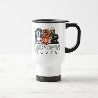 Havanese Lover Travel Mug
