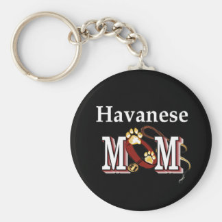 Havanese MOM Gifts Key Ring