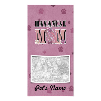 Havanese MOM Photo Cards