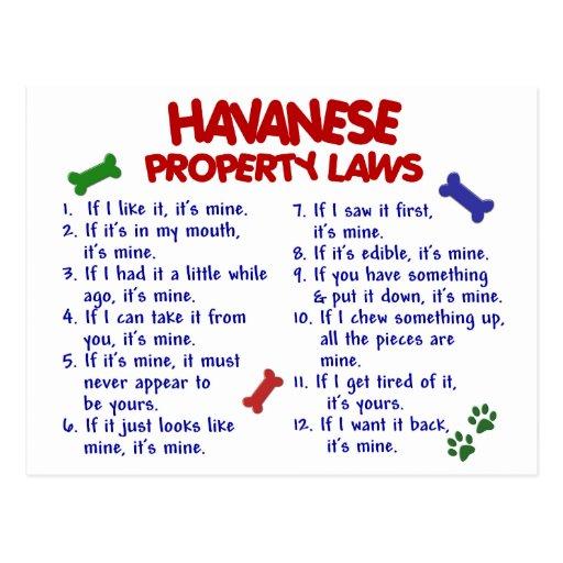 HAVANESE Property Laws 2