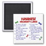 HAVANESE Property Laws 2 Fridge Magnets