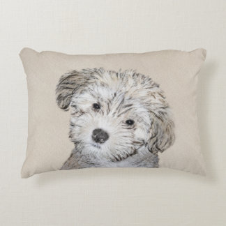 Havanese Puppy Decorative Cushion