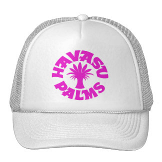 Havasu Palms Purple Pink Logo Hat