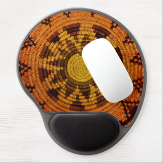 Havasupai Indian Basket with (or without) Monogram Gel Mouse Pad