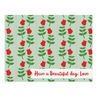 Have a Beautiful day, Love postcards