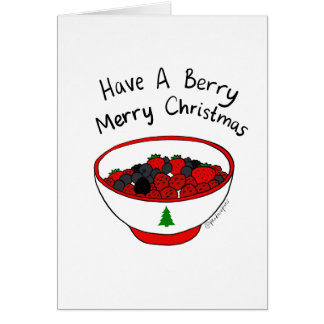 Have a Berry Merry Christmas! Card