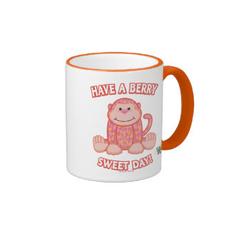 Have A Berry Sweet Day Ringer Coffee Mug