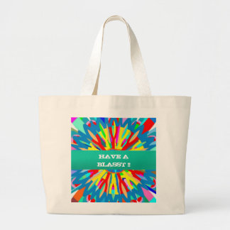HAVE A BLASST : Editable Text Replace your OWN Tote Bag