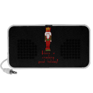 Have a Cracking Good Holiday with Nutcracker Mini Speakers