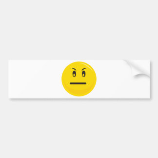 Have a day yellow smiley bumper sticker