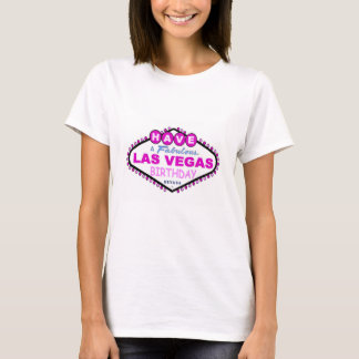 Have A Fabulous Las Vegas Birthday Baby Doll Tee
