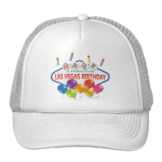 HAVE A FABULOUS LAS VEGAS BIRTHDAY HAT