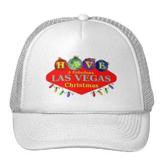 HAVE A Fabulous Las Vegas Christmas Hat