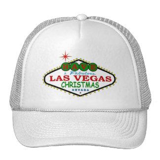 Have A Fabulous Las Vegas Merry Christmas Cap