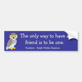 Have a Friend Bumper Sticker