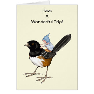 Have A Good Trip, Gnome Child on Big Bird: Flight Card
