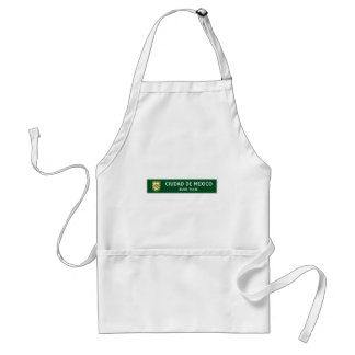 Have a Good Trip, Traffic Sign, Mexico Standard Apron