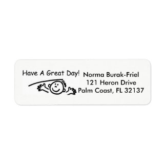 Have A Great Day Address Label