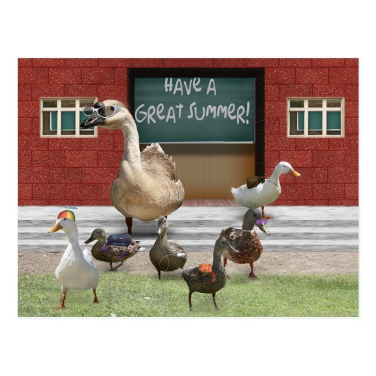 Have a Great Summer Vacation! Postcard