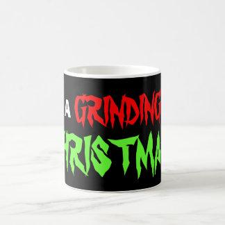 Have A Grinding Christmas Basic White Mug