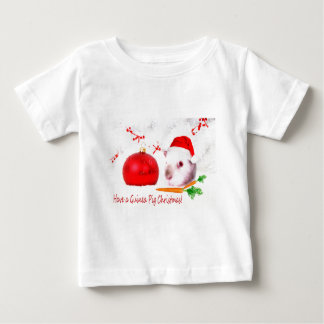 Have a Guinea Pig Christmas Baby T-Shirt
